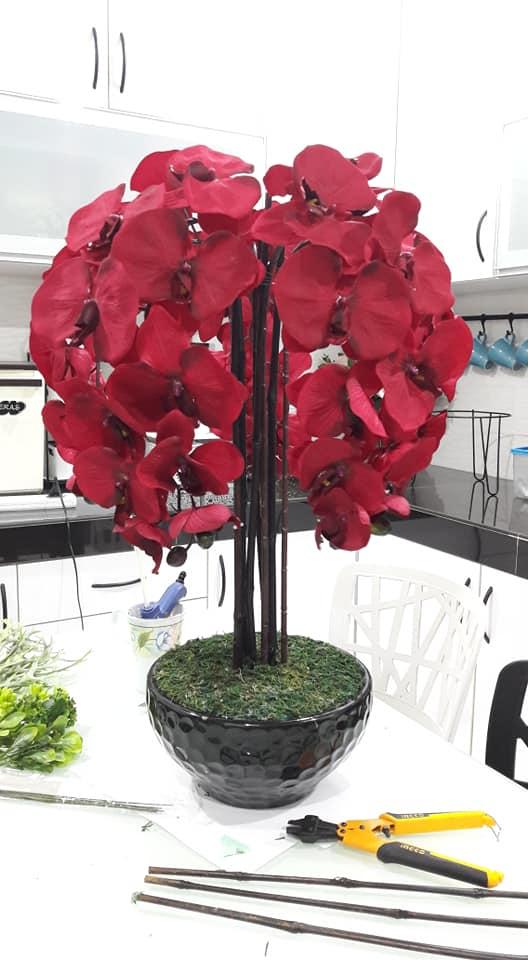 Cara Gubah Bunga Orkid Paling Simple Tapi Cantik Confirm Boleh Buat Walau Keras Tangan Vanilla Kismis