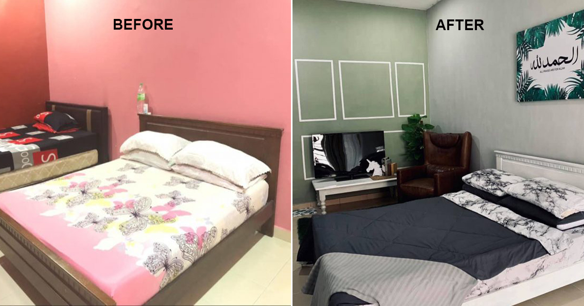 Ubah Suai Bilik Tidur 48 Jam Bajet Cuma Rm600 Tapi Hasilnya Memang Cantik Beza Sangat Vanilla Kismis